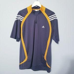 ADIDAS Athletic Sports Shirt Large